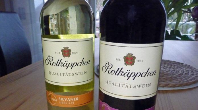 Rotkäppchen Wein Regent und Silvaner