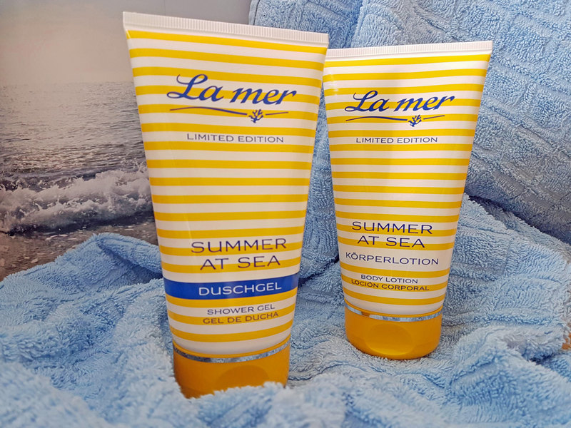 La mer Summer at sea