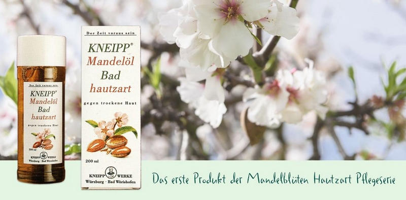 Kneipp Mandelblüten Hautzart