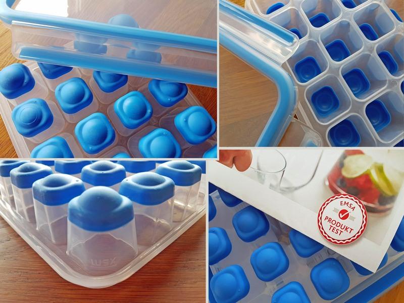 Emsa Clip & Close Eiswürfelform