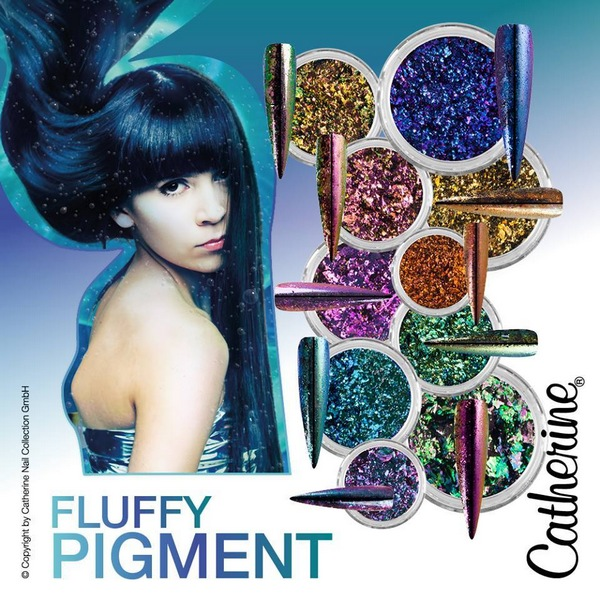 Catherine Fluffy Pigment