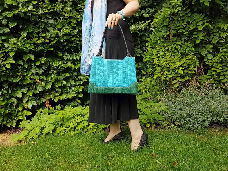 Delieta Elegance Handtasche Rio Blau