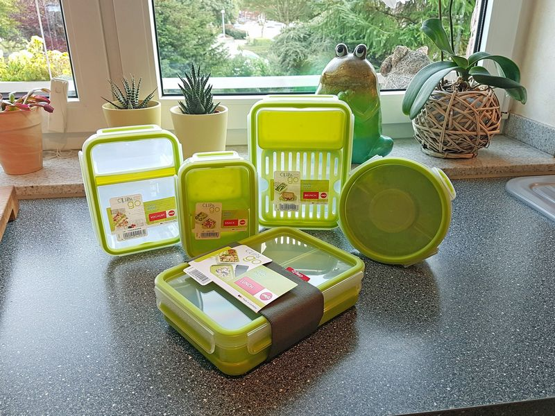 Emsa Clip & Go Frischhaltedosen Box