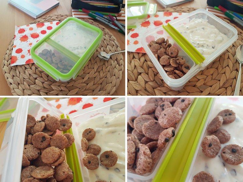 Emsa Clip & Go Frischhaltedosen Box Joghurt