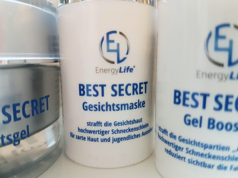 Energy Life Best Secret Gesichtspflege