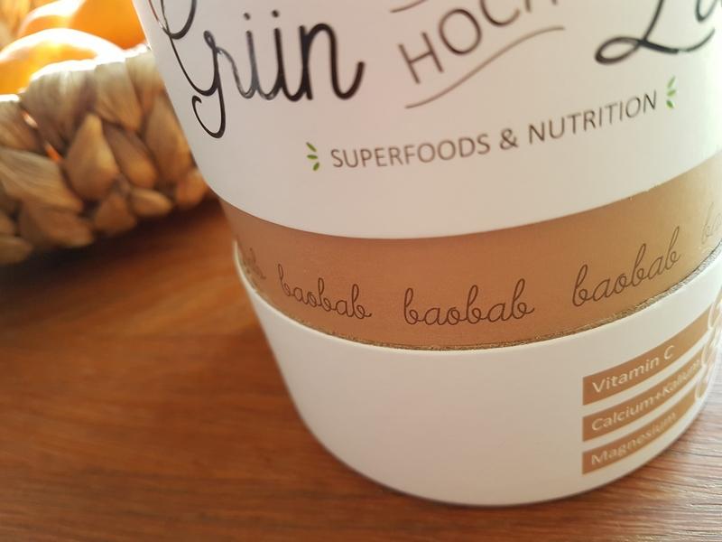 Grün Hoch Zwei Baobab Pulver Superfood