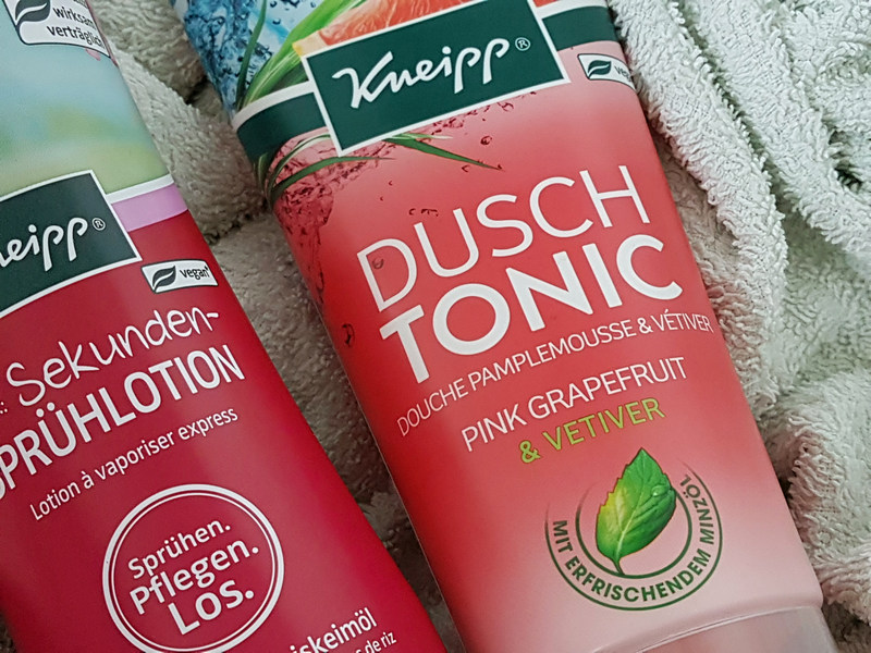Kneipp Frühjahrsneuheiten 2018 Frühlingsneuheiten Dusch Tonic