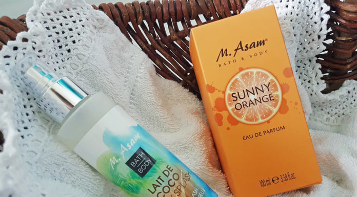 M. Asam Sunny Orange Parfum Lait de Coco Body Splash