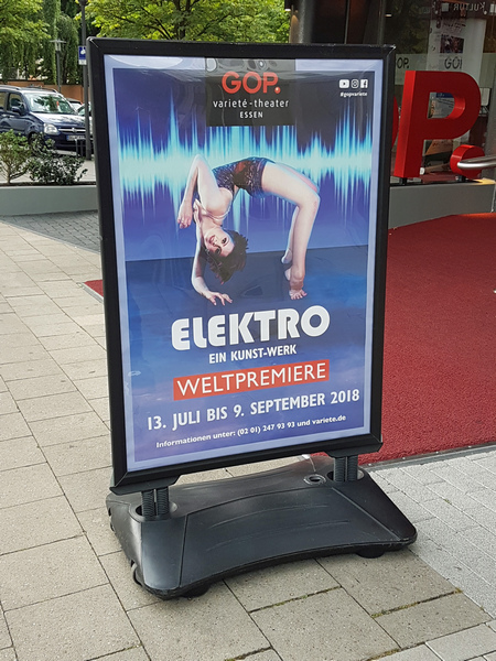 GOP Varieté Theater Essen Show Elektro