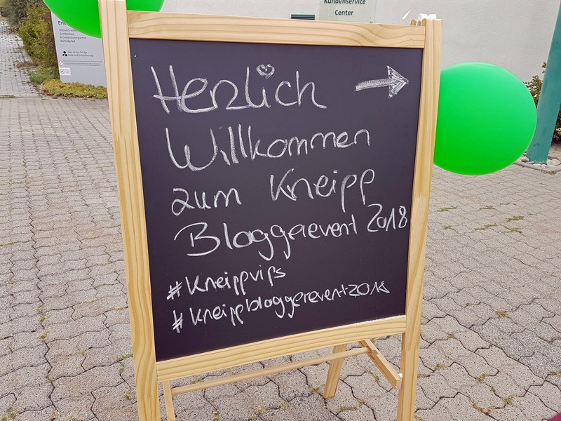 Kneipp Bloggerevent 2018