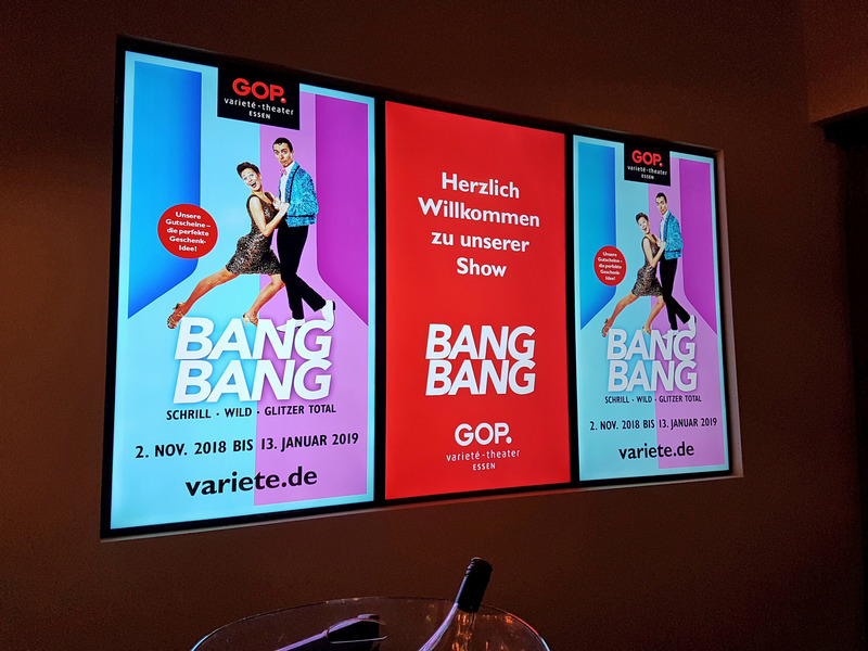 GOP Bang Bang Essen Varieté Theater