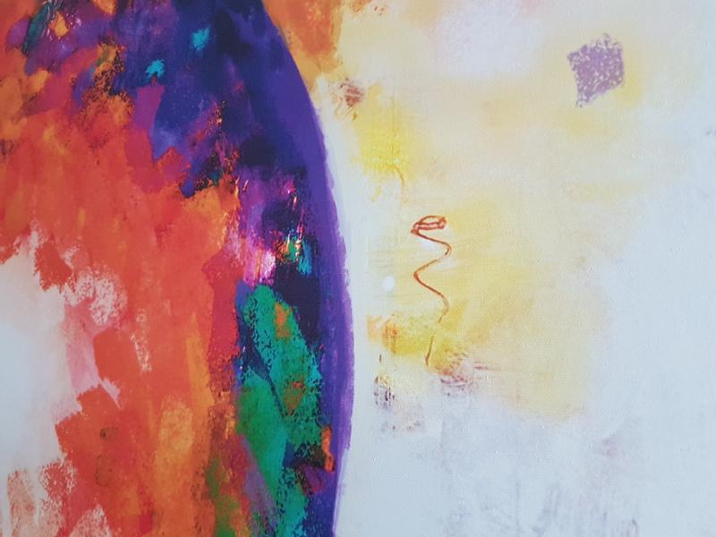 Artgeist Wandbild Ein Traum in Orange