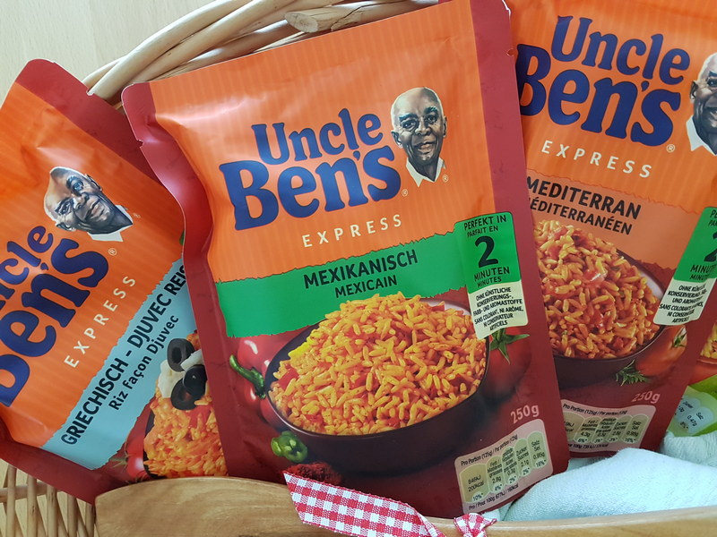 Uncle Ben's Express Reis Mexikanisch
