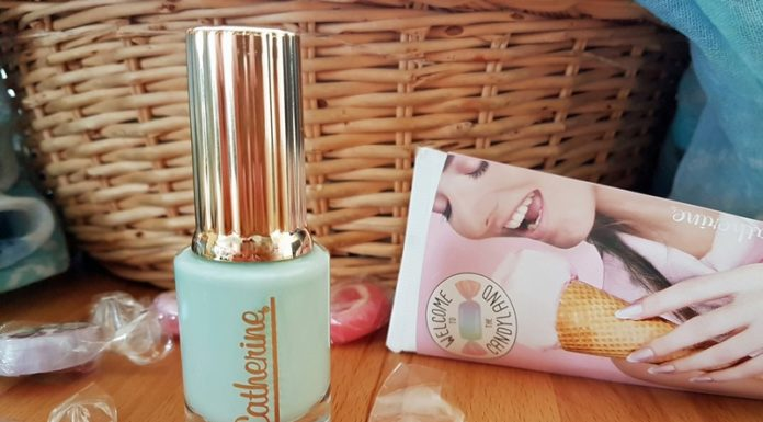 Catherine Nail Collection Candyland mint jelly