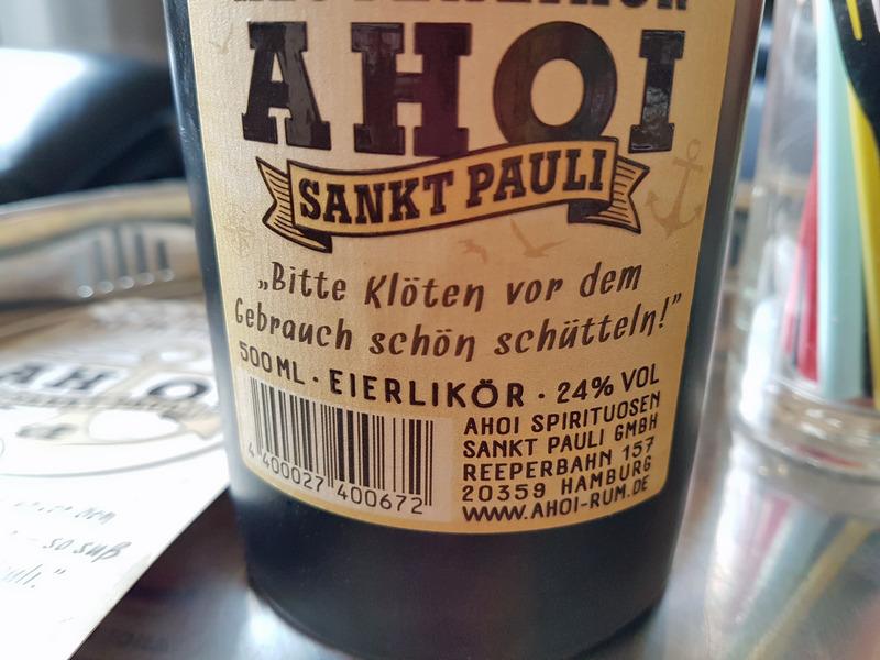 Ahoi Klötenlikör Sankt Pauli Spirituosen