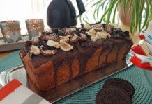 Bananenkuchen mit viel Schokolade