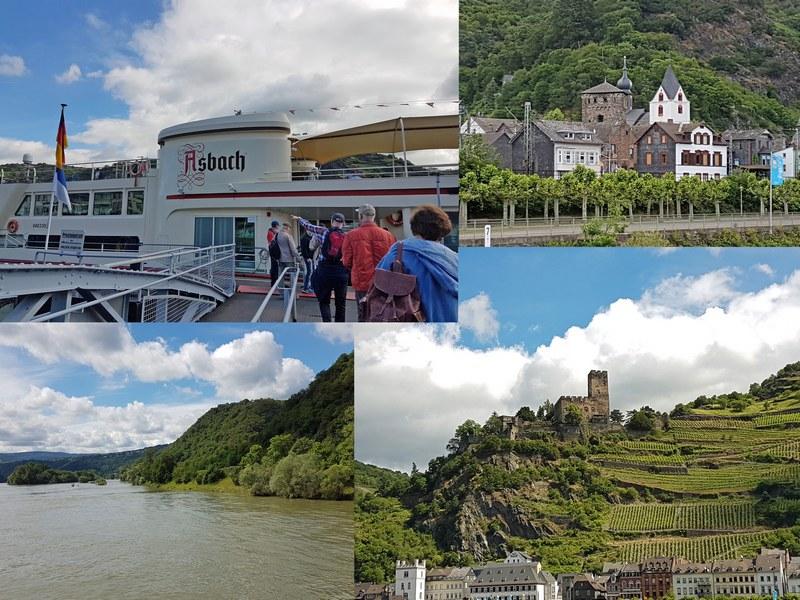 Schiffstour Mittelrhein Loreley