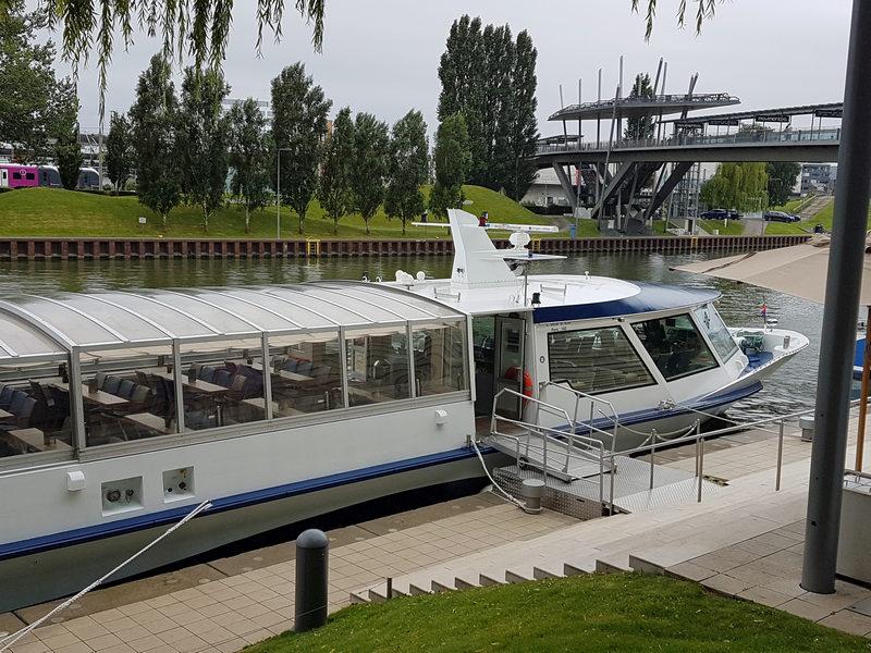 Autostadt Wolfsburg Bootsfahrt
