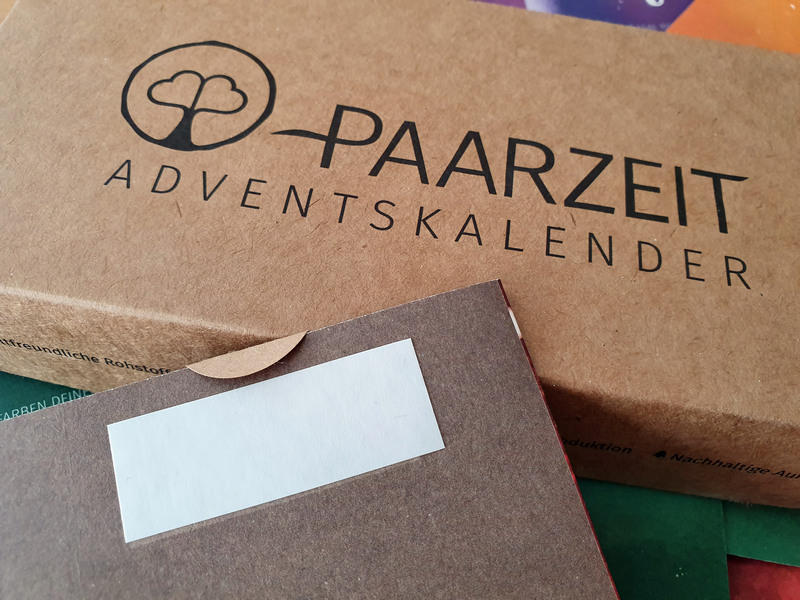 Paarzeit Adventskalender