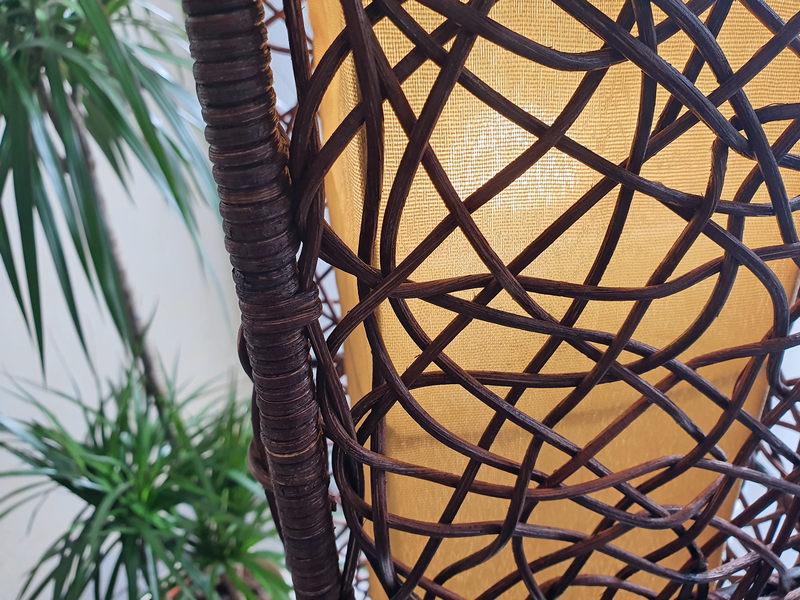 1a Direktimport Lampe Clara Rattan Mexiko