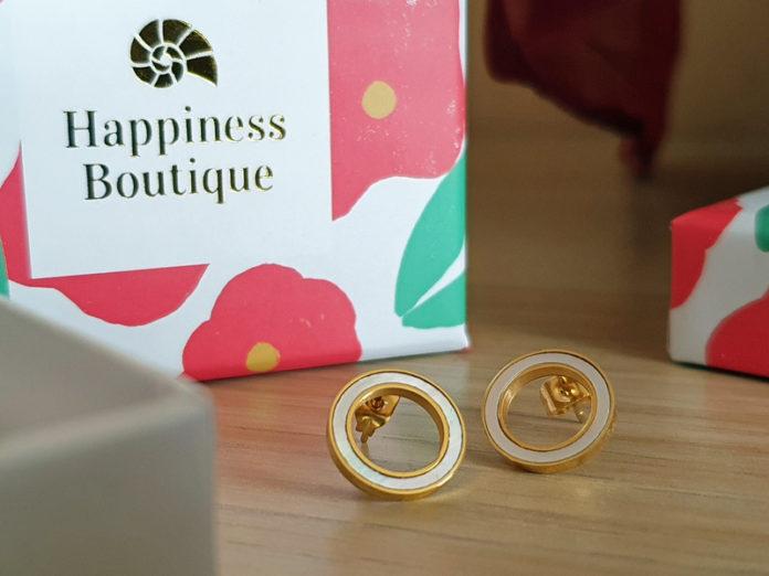 Happiness Boutique Ohrstecker Muschelschale
