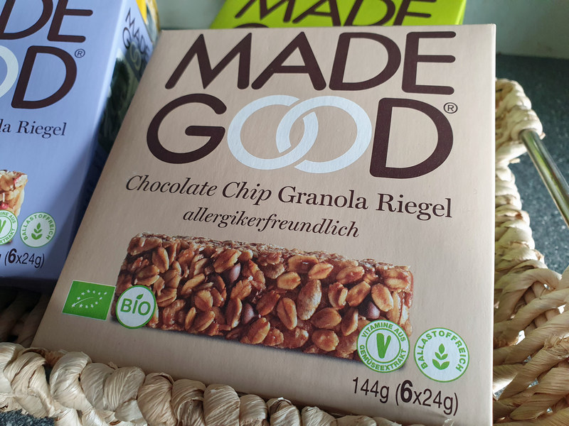 Granola Riegel Chocolate Chip