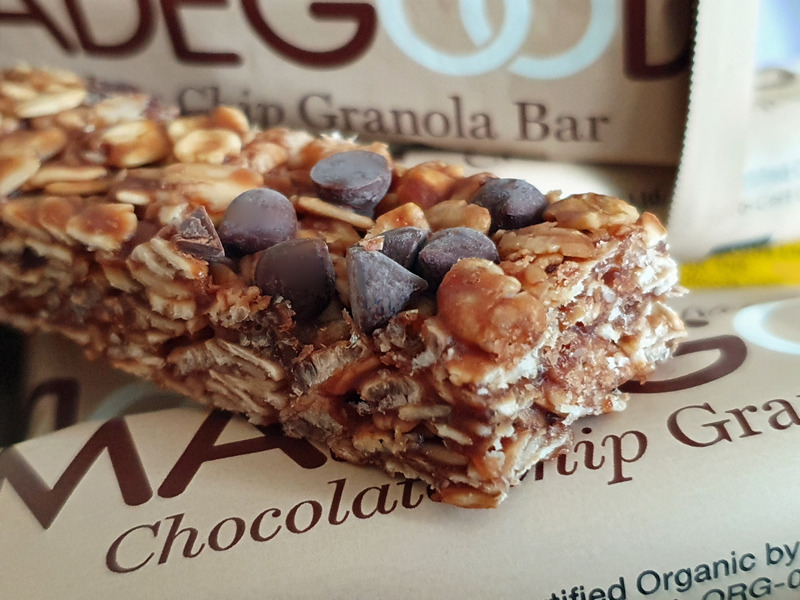 MadeGood Granola Riegel Chocolate Chip
