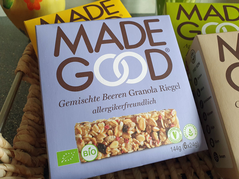 Granola Riegel gemischte Beeren