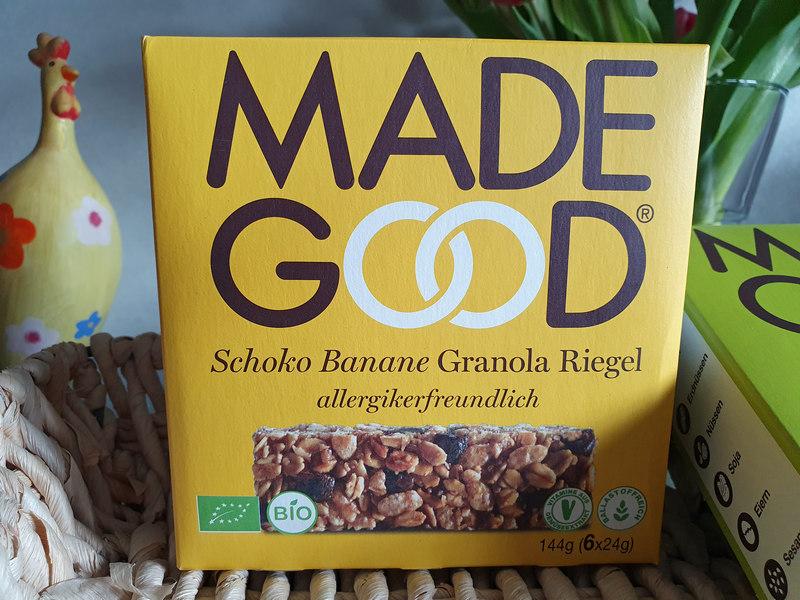 Granola Riegel Schoko Banane