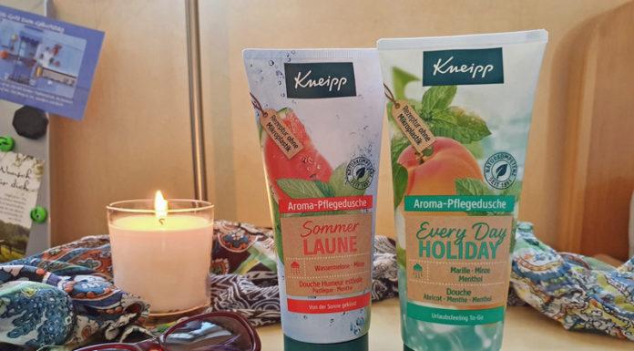 Kneipp Frühjahrsneuheiten 2020 Aromapflegedusche