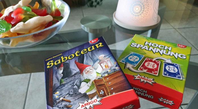 Amigo Spiele Saboteur und Hochspannung