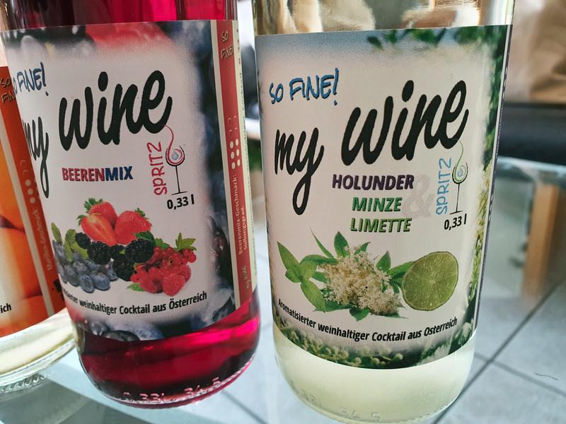 Mywine Spritz Edition Beerenmix Holunder