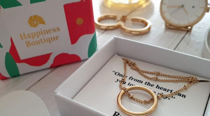 Happiness Boutique Creolen und Kette mit Ring