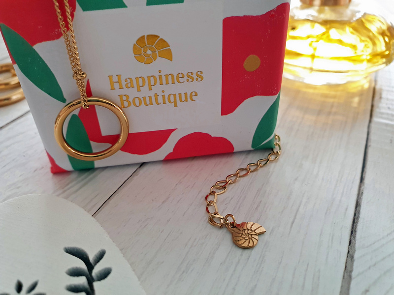 Happiness Boutique Kette mit Ring