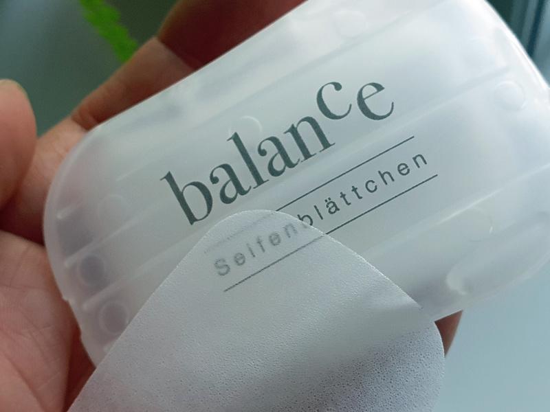 Gerlasan balance Seifenblättchen