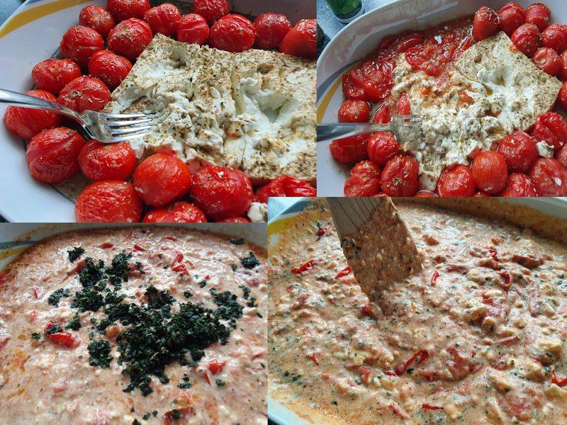 Baked Feta Pasta