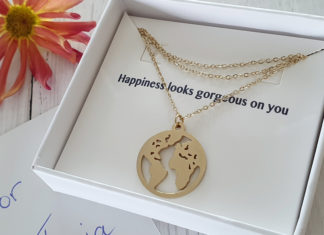 Happiness Boutique Weltkarte