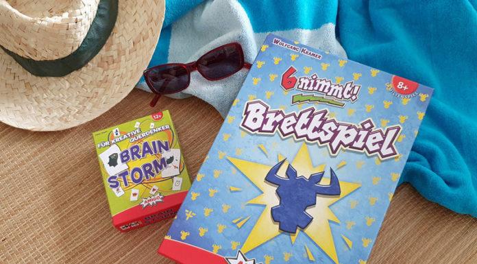 Amigo Spiele 6 nimmt Brettspiel und Brainstorm