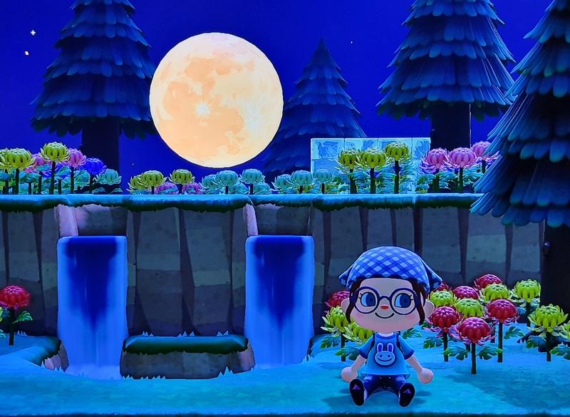 Animal Crossing New Horizons Mond