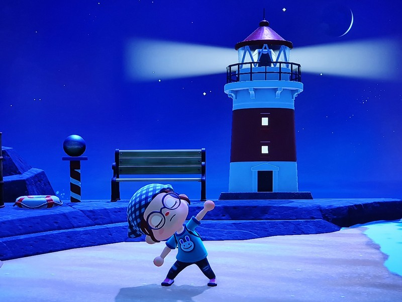 Animal Crossing New Horizons Leuchtturm