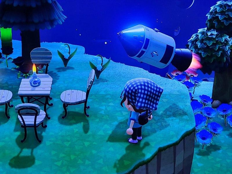 Animal Crossing New Horizons Rakete