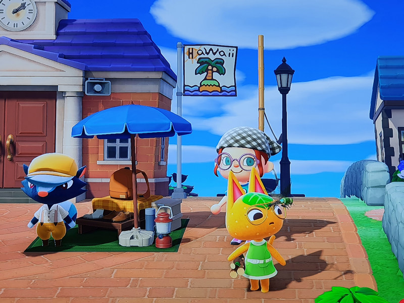 Animal Crossing New Horizons Rathaus