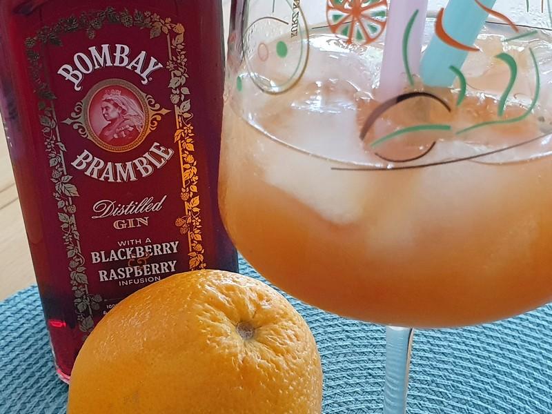 Bombay Bramble Gin Mango Orange