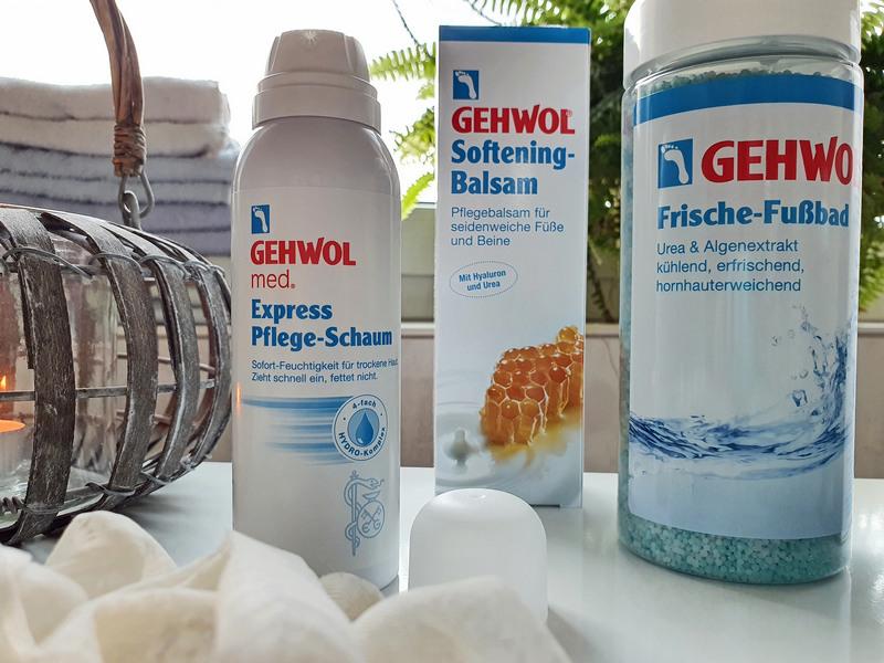 Gehwol Express Pflege-Schaum